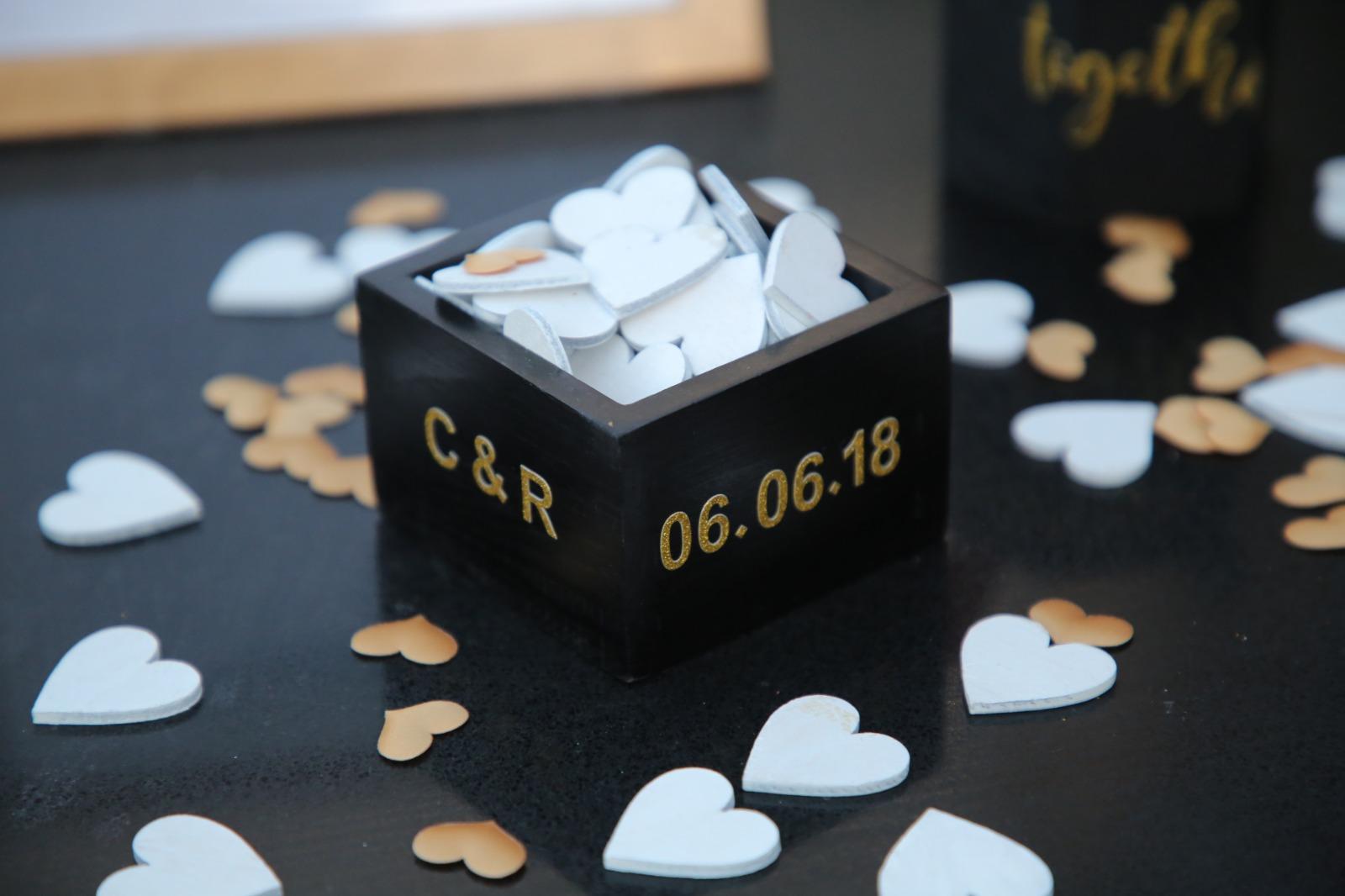 עיצוב בעמדת כניסה לחתונה DIY 2