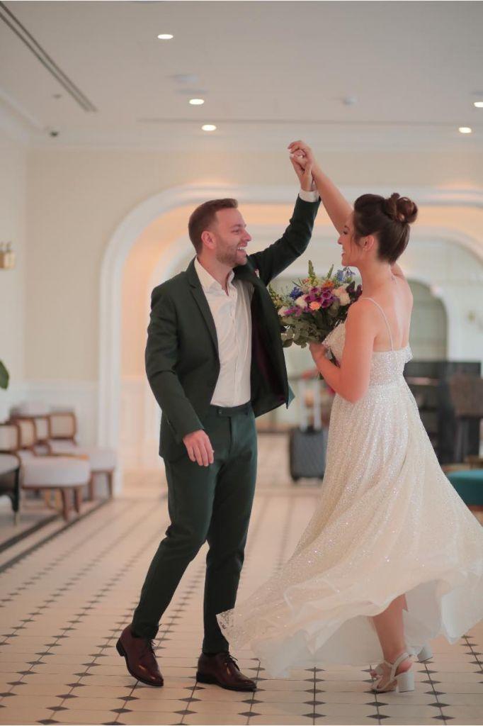 מקום התארגנות לחתונה