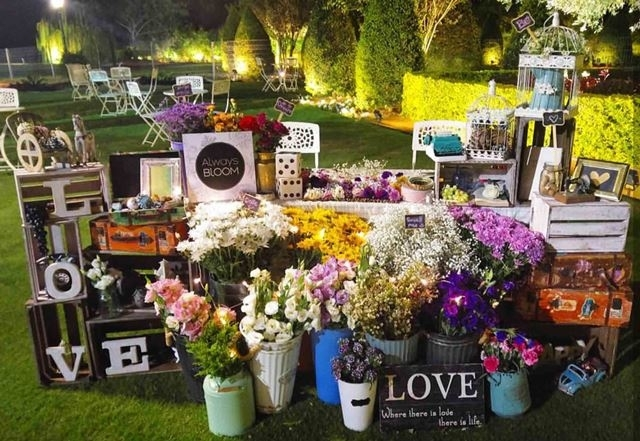 flower booth