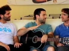 החברים כותבים שיר לחתן.. מערכון אנדרדוס